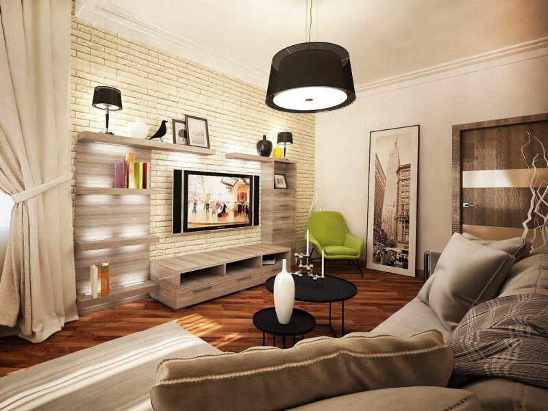 Маленькие хитрости большого ремонта: дизайн гостиной в хрущевке