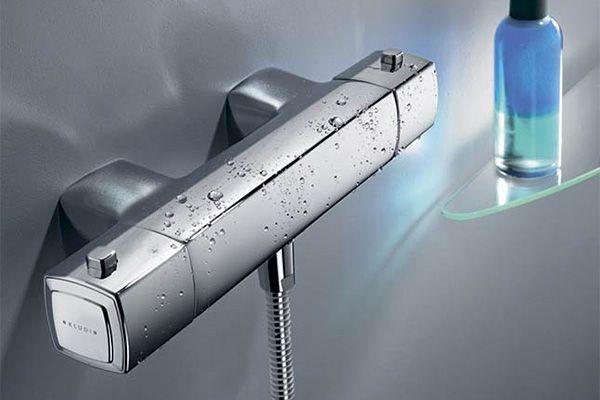 Смеситель с термостатом: функциональность и экономичность