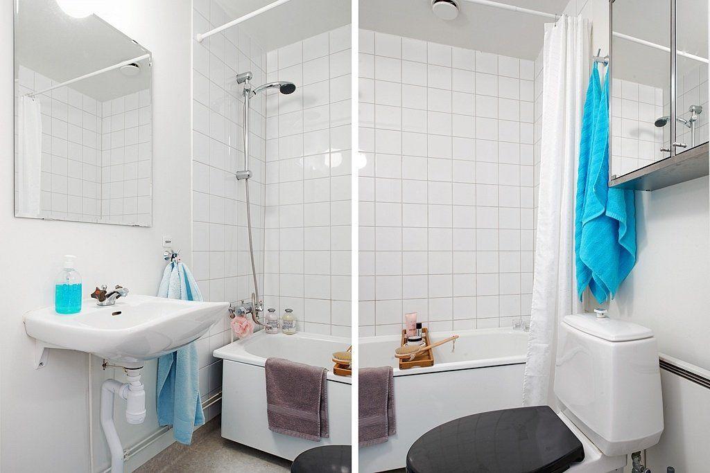 Освежить интерьер маленькой ванной комнаты без ремонта: креативные идеи