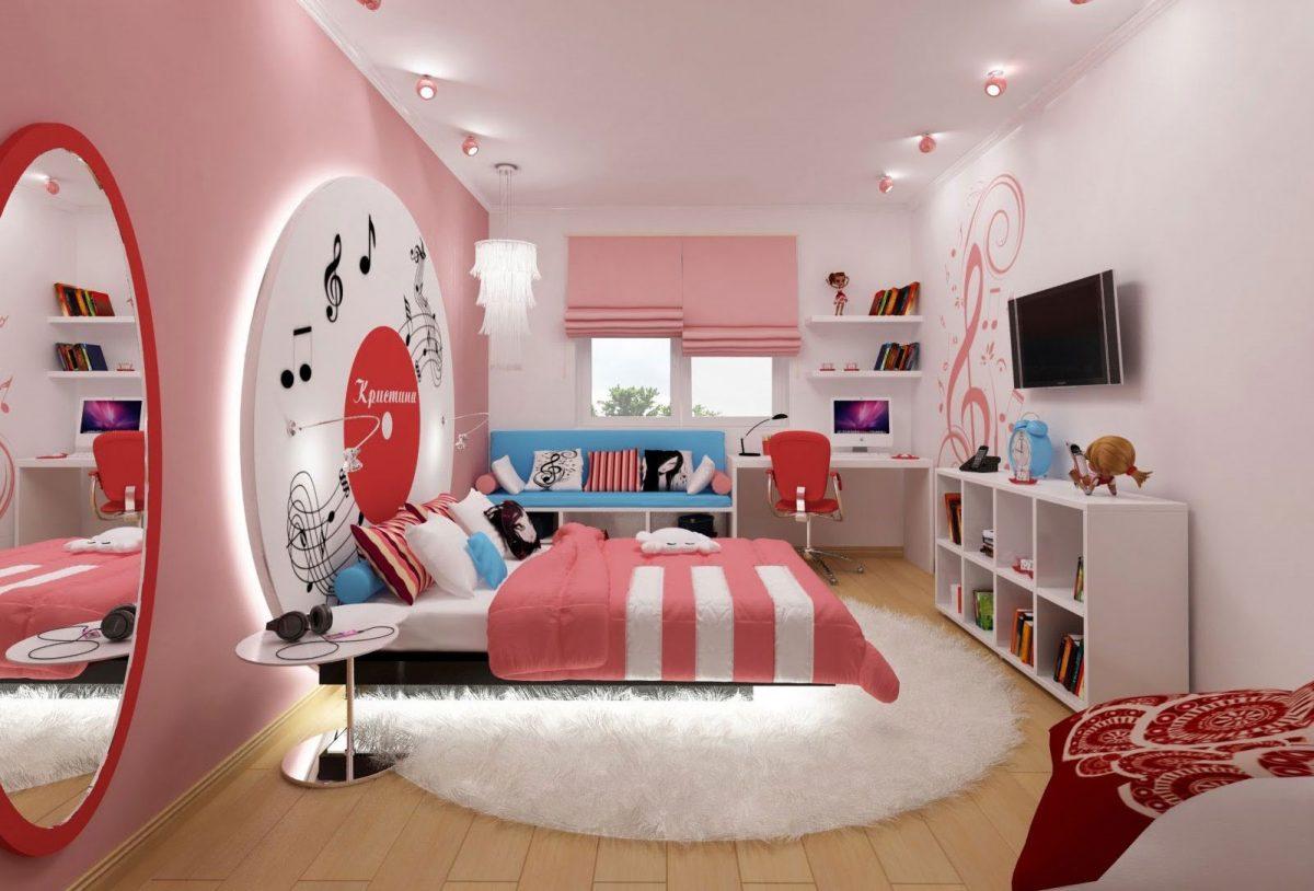 Воплощаем девичьи грезы: комната для подростка