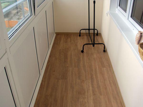 Пол на балконе: краткий ликбез по отделке