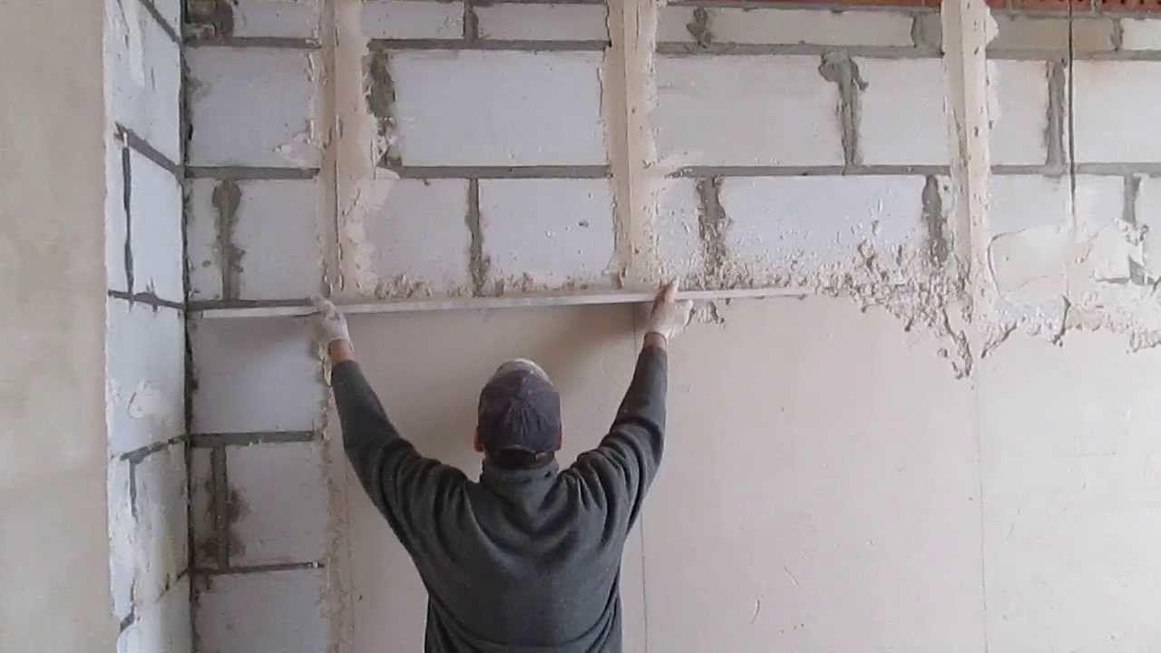 Основы ремонта: выравнивание стен
