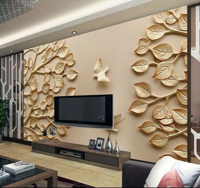 Декоративное дерево на стене своими руками