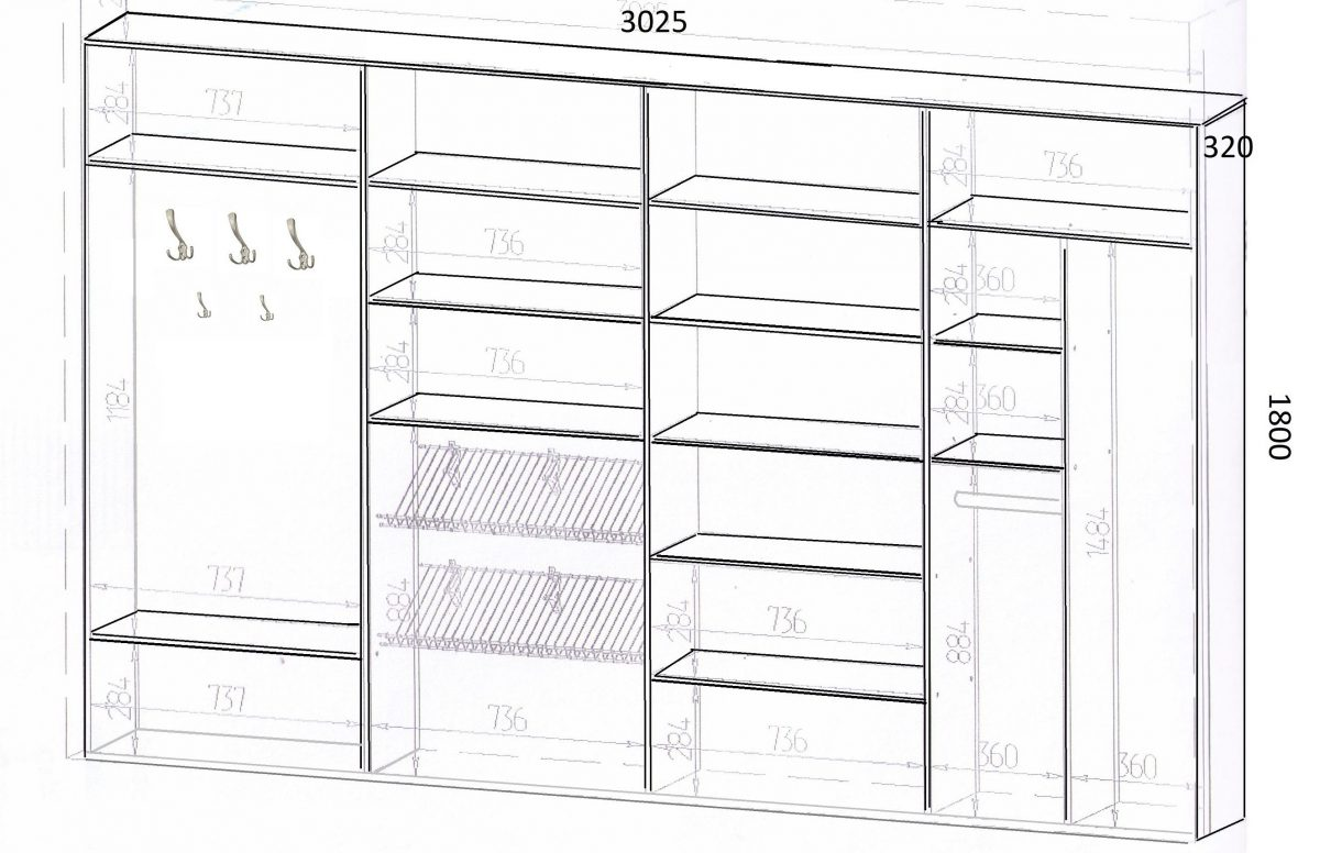 Как сделать встроенный шкаф своими руками? Легко!