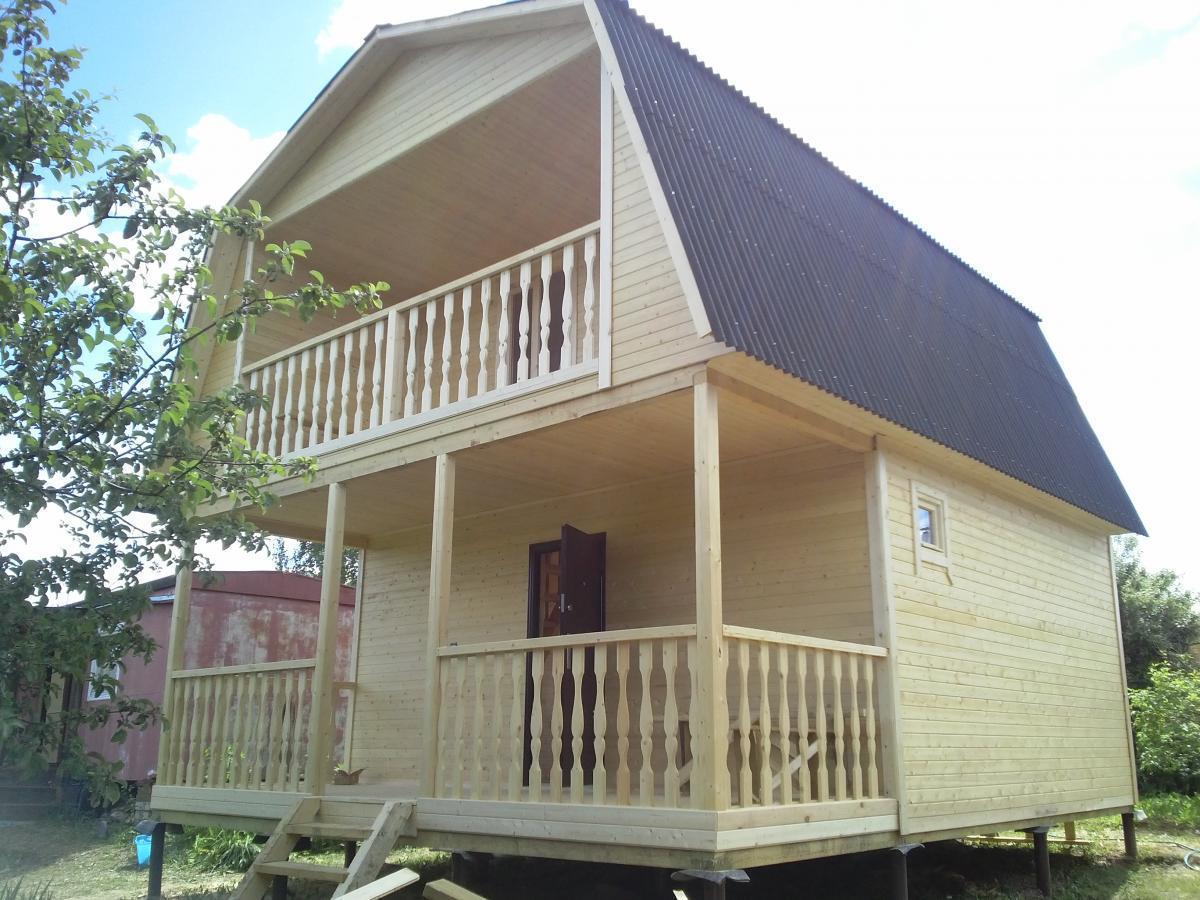 Как сделать мансардную крышу дома своими руками?