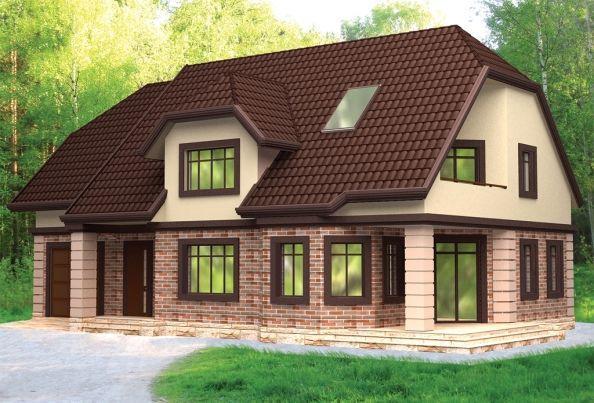 Виды мансардных крыш частных домов: выбор велик