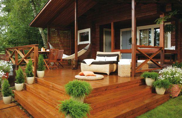 Как сделать террасу к дому своими руками: элегантность и простота