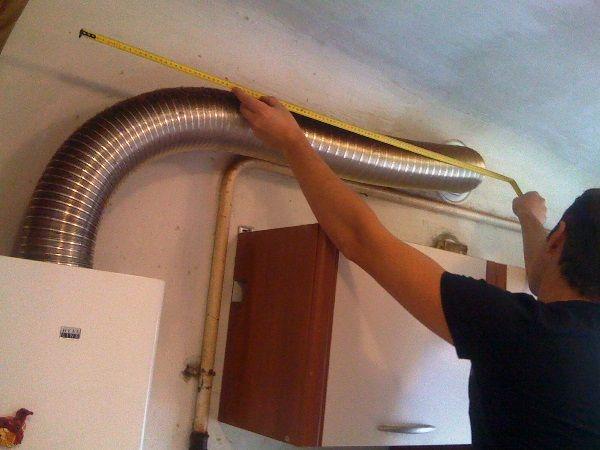 Как установить газовую колонку в квартире: требования и работы