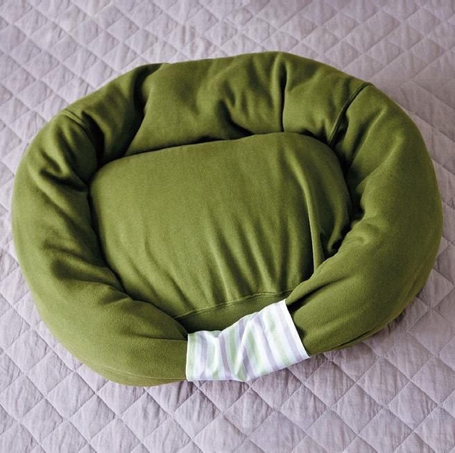 Подстилка для собак своими руками: даешь удобную кровать!