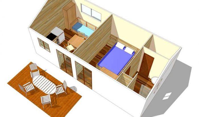 Бытовка на дачу: что нам стоит красивый «мини дом» построить?