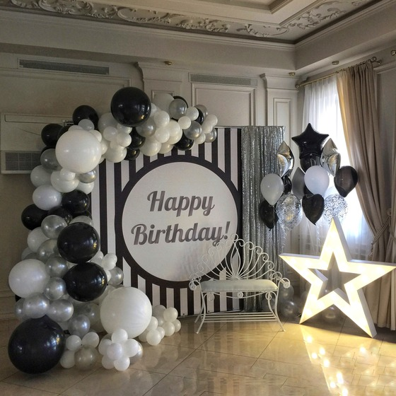 Фотозона на день рождения: чудесные моменты на волшебном фоне