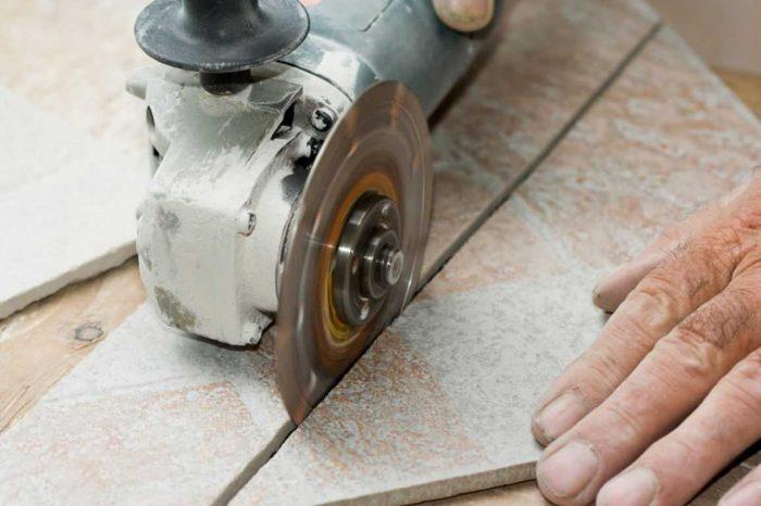 Как резать плитку болгаркой, или ода аккуратности, смекалке