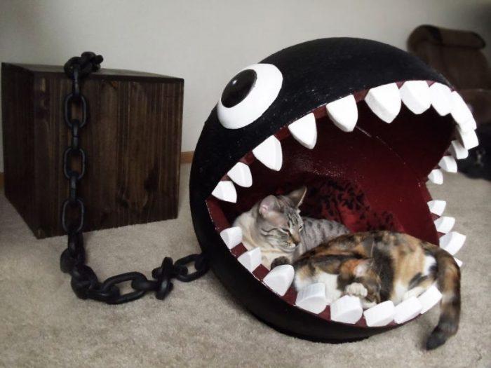 Как сделать лежанку для кошки своими руками: любимую кровать — пушистым королям