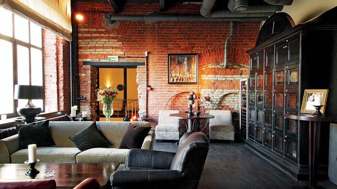 Комната в стиле лофт: бывший «чердак», превратившийся в бренд