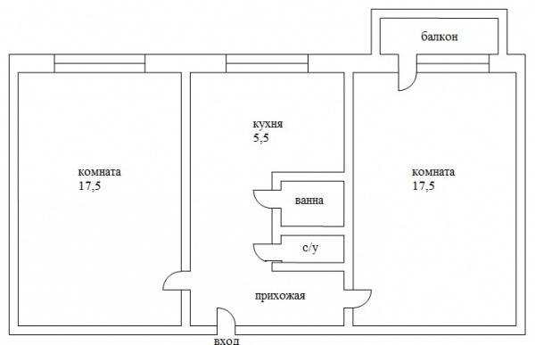 Ремонт хрущевки 2 комнаты: трансформация из золушки в принцессу