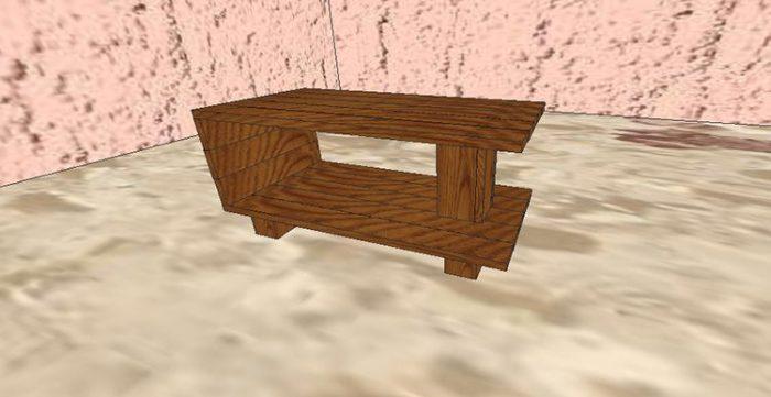 Стол из дерева своими руками: самые простые варианты для дебюта