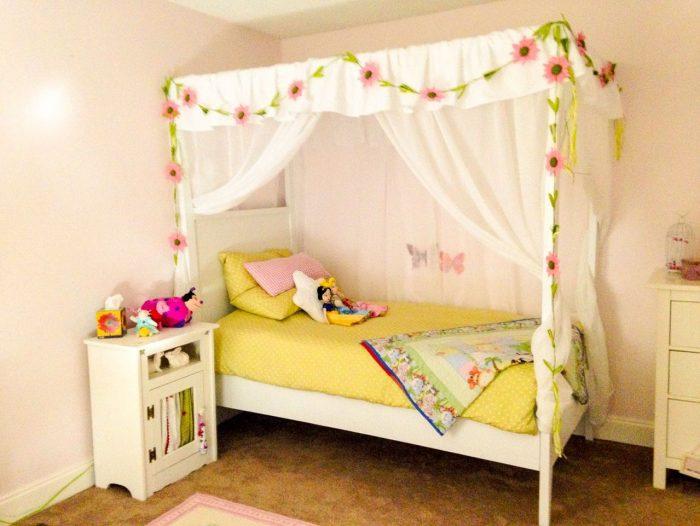 Балдахин на детскую кроватку своими руками: элементарно, миссис Хадсон