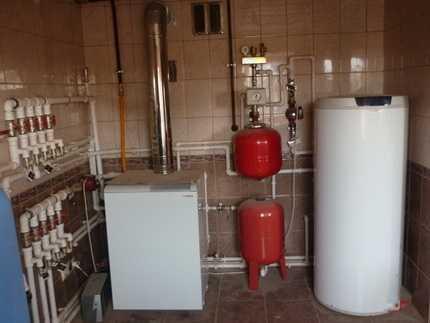 Установка газового котла своими руками: гарантия безопасности — залог успеха
