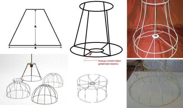 Как сделать абажур своими руками: простота и красота — иногда синонимы