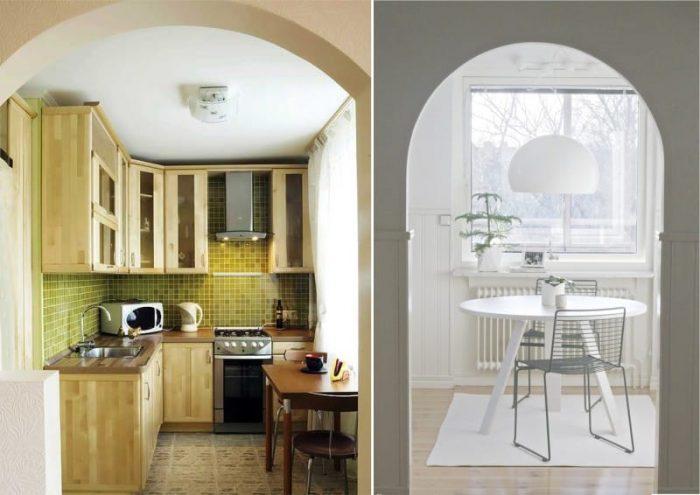 Дизайн очень маленькой кухни: как победить в войне за простор
