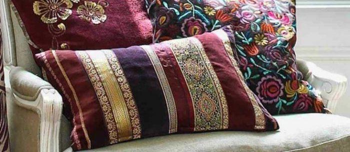 Диванные подушки своими руками: простые способы украсить милый дом