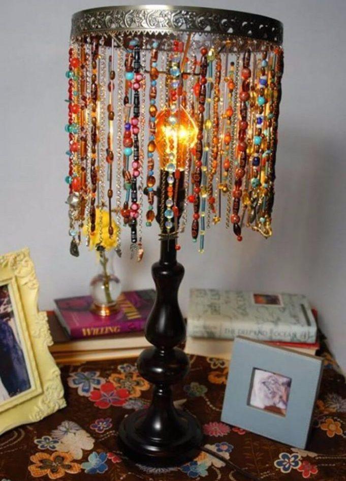 Настольный светильник своими руками: виды, инструкции, полезные советы