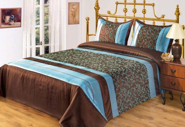 Как сшить покрывало на кровать: виды изделий, тканей, советы, инструкции