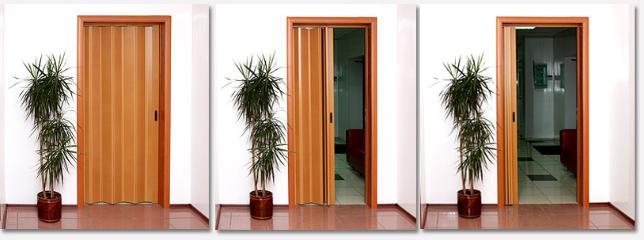 Дверь гармошка своими руками: «инструмент», не требующий суперталанта