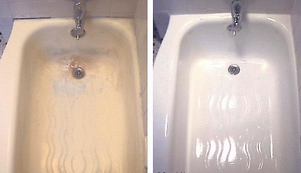 Покраска чугунной ванны: 2 хороших варианта — легкий и самый простой