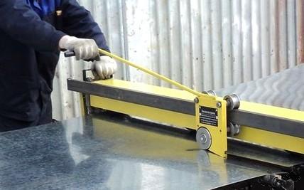 Роликовый нож для листового металла своими руками: быть ему или не быть?