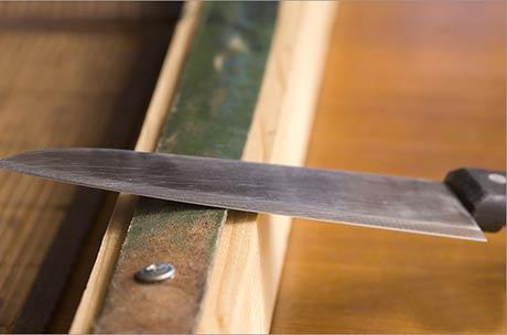 Приспособление для заточки ножей своими руками: от простого к сложному