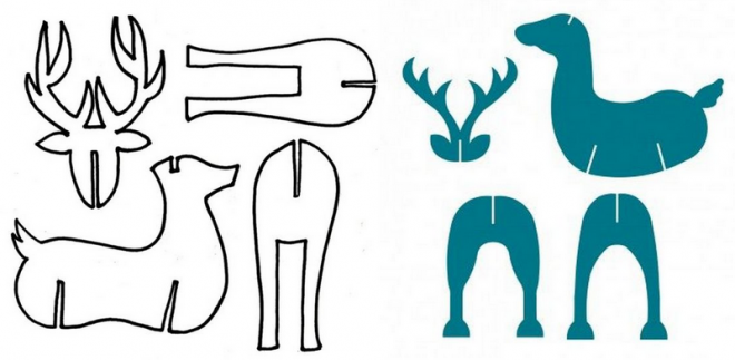 Новогодний олень своими руками: несколько простых вариантов изготовления