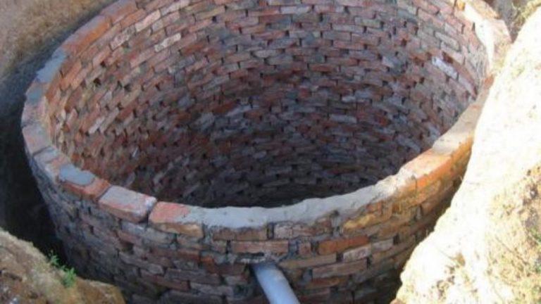 Дренажная яма для бани