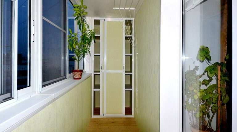 Шкаф на балкон лоджию своими руками