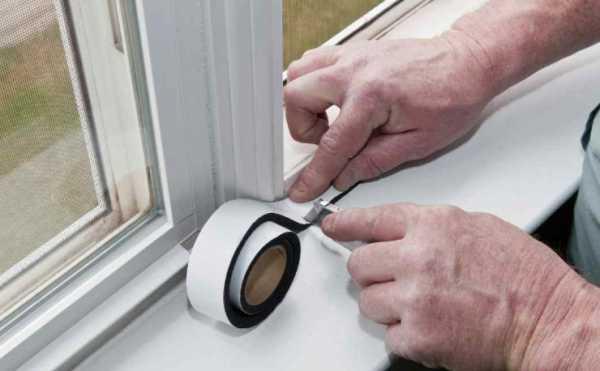 Чем заклеить окна на зиму: лучший ответ — сочетание материалов