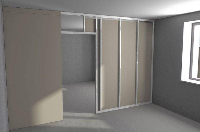 Как сделать дверной проем из гипсокартона: простой и сложный варианты
