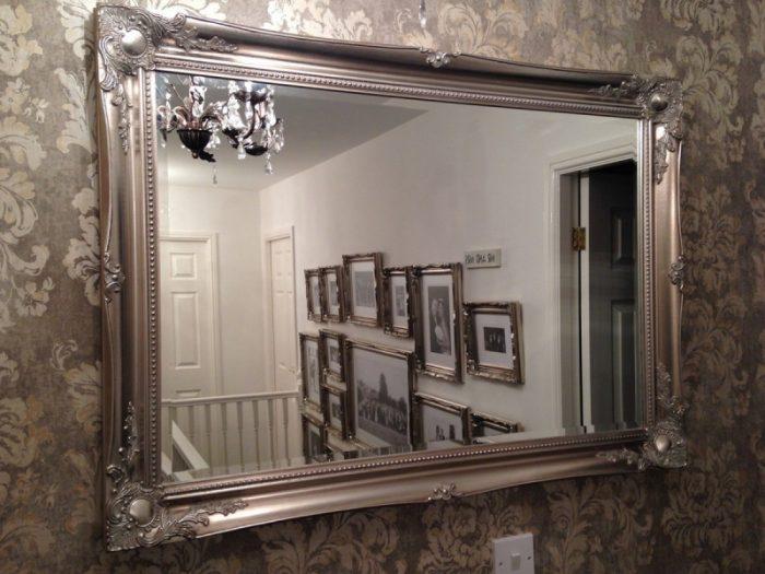 Багет для зеркала: интересные решения, но минимальные расходы на декор