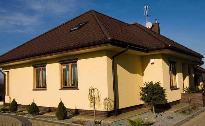 Проекты одноэтажных домов из пеноблоков: особенности очень легких стен