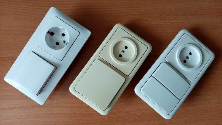 Как подключить розетку от одноклавишного выключателя