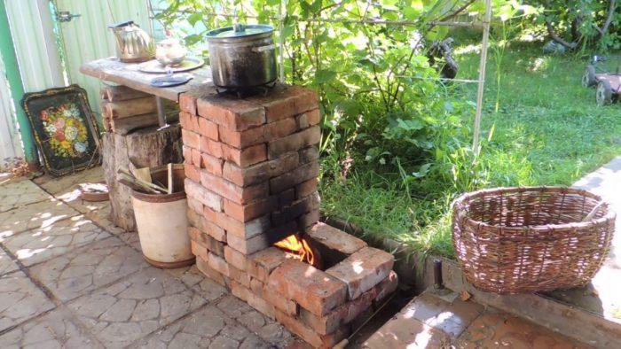 Самая простая уличная печь: максимальный комфорт или минимум труда?