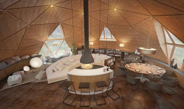 Дома сферической формы: подарок природы или архитектурное излишество?