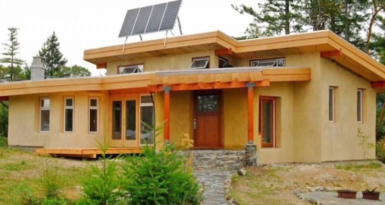 Саманный дом: проект, изготовление «глинобетона» и технология строительства || Старый саманный дом