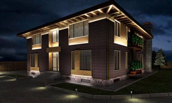 дизайн участка частного дома с огородом