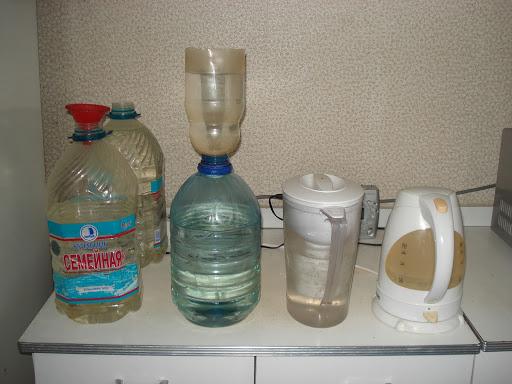 Фильтр грубой очистки воды своими руками: простые альтернативы