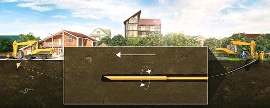 Как проложить трубу под дорогой: технологии простые, быстрые и трудоемкие