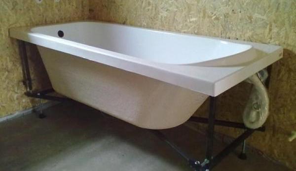 Подставка под ванну своими руками: материалы и способы создания