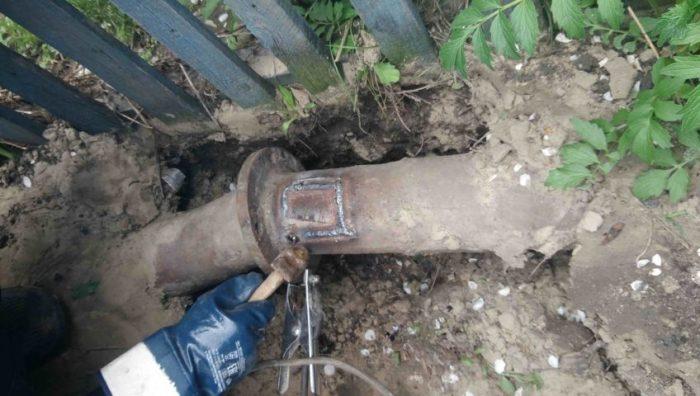 Как найти прорыв водопроводной трубы под землей: варианты решения