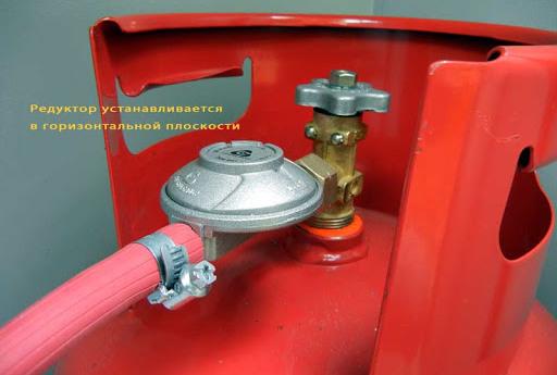 Правила установки газового баллона в частном доме и на даче