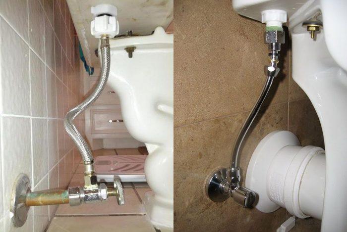Правильный выбор сантехники: какой подвод воды к унитазу лучше