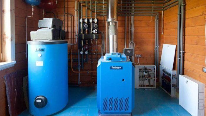Принцип работы газовой котельной, элементы системы и требования к ней